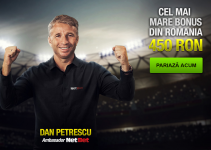 Bonus NetBet cu Dan Petrescu