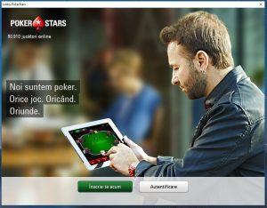 ecran intampinare software pokerstars romania