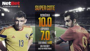 promotie-NetBet-supercote-Romania-v-Spania
